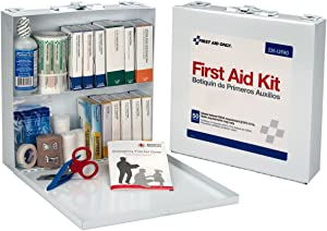 First Aid Only Bulk First Aid Kit, Metal Case, 226-U/FAO