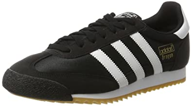 adidas Dragon Og Mens Trainers Black White - 7 UK