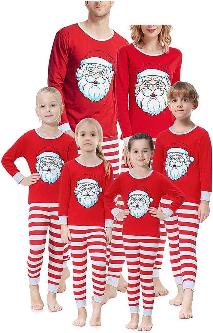 Mibuy Pijamas Navideños Familiares, Conjunto Navidad Papa Noel ...