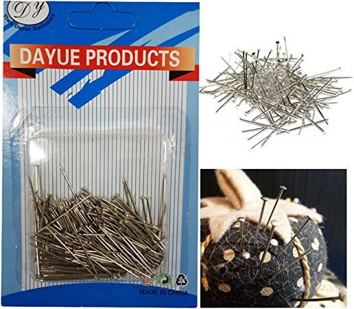 Dressmaking Pins 30mm Sewing Craft Work Straight Tailoring Pins