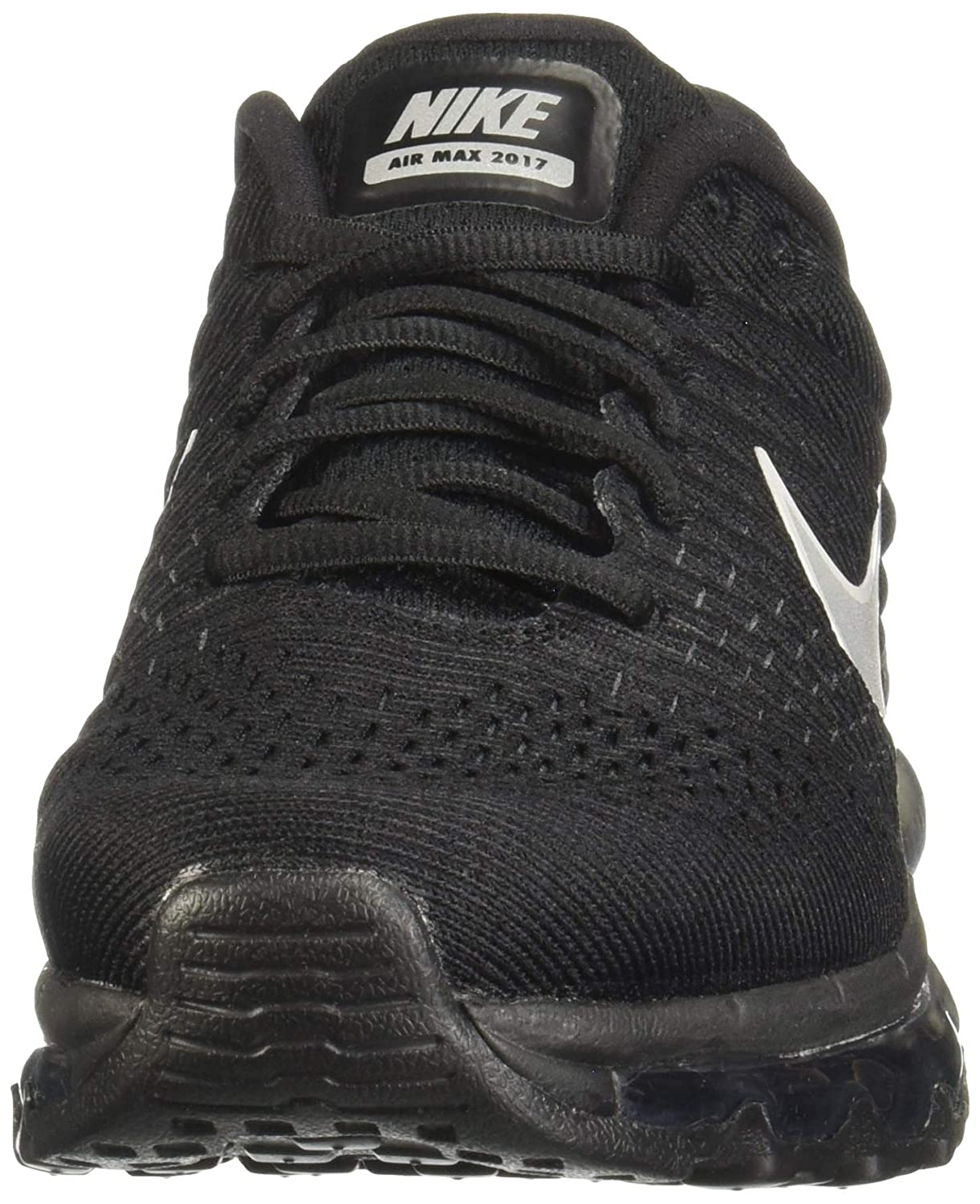 on sale b66b5 a16d4 Amazon.com   Nike Womens Air Max 2017 Running Shoes Black White Anthracite  849560-001 Size 10   Road Running