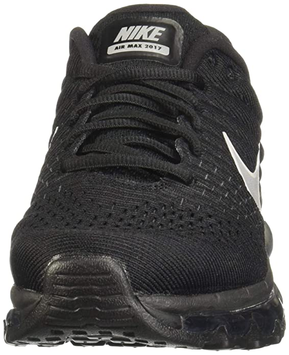 on sale 41c15 3b0d1 Amazon.com   Nike Womens Air Max 2017 Running Shoes Black White Anthracite  849560-001 Size 10   Road Running