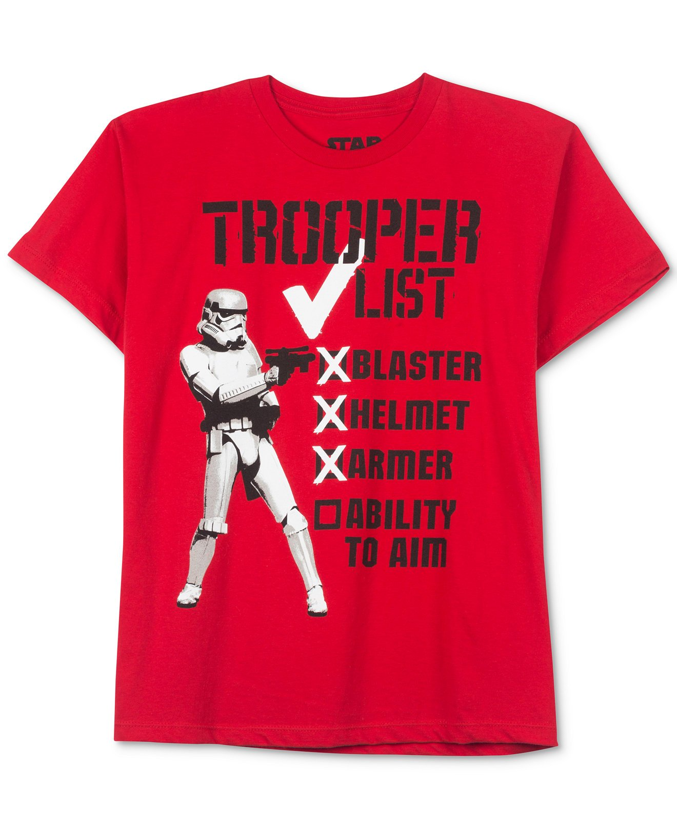 Disney Star Wars Boys' Stormtrooper List T-Shirt (3)