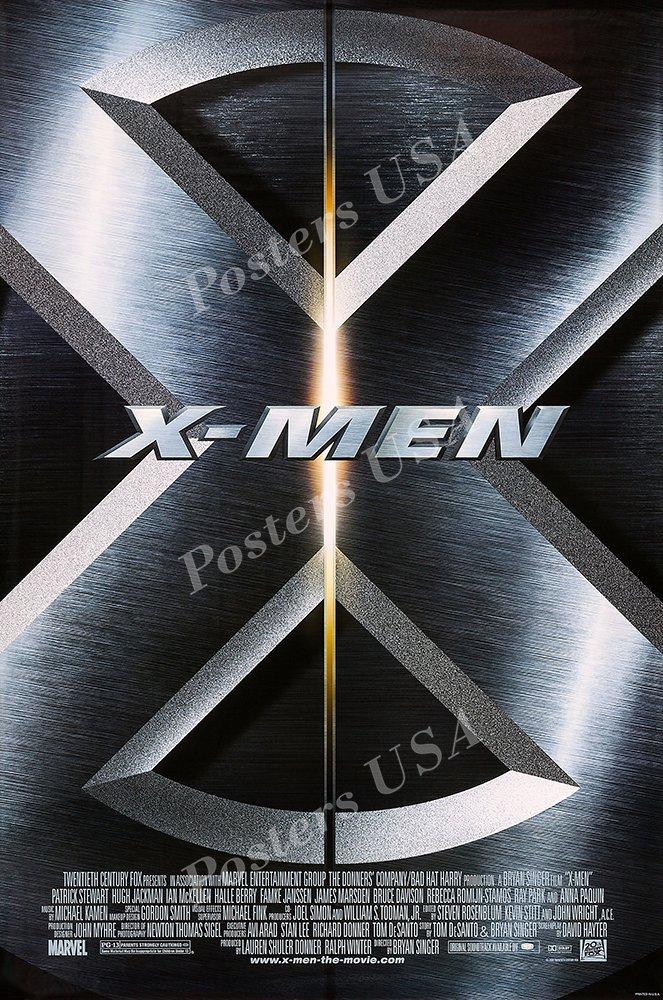 "Posters USA - Marvel X-Men Original Movie Poster GLOSSY FINISH - FIL314 (24"" x 36"" (61cm x 91.5cm))"