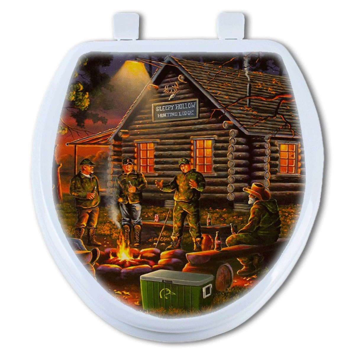 Campfire Tales Toilet Seat - Round