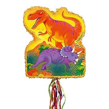 Amscan p33514 Pull de Piñata prähisto rische Party: Amazon.es: Juguetes y juegos
