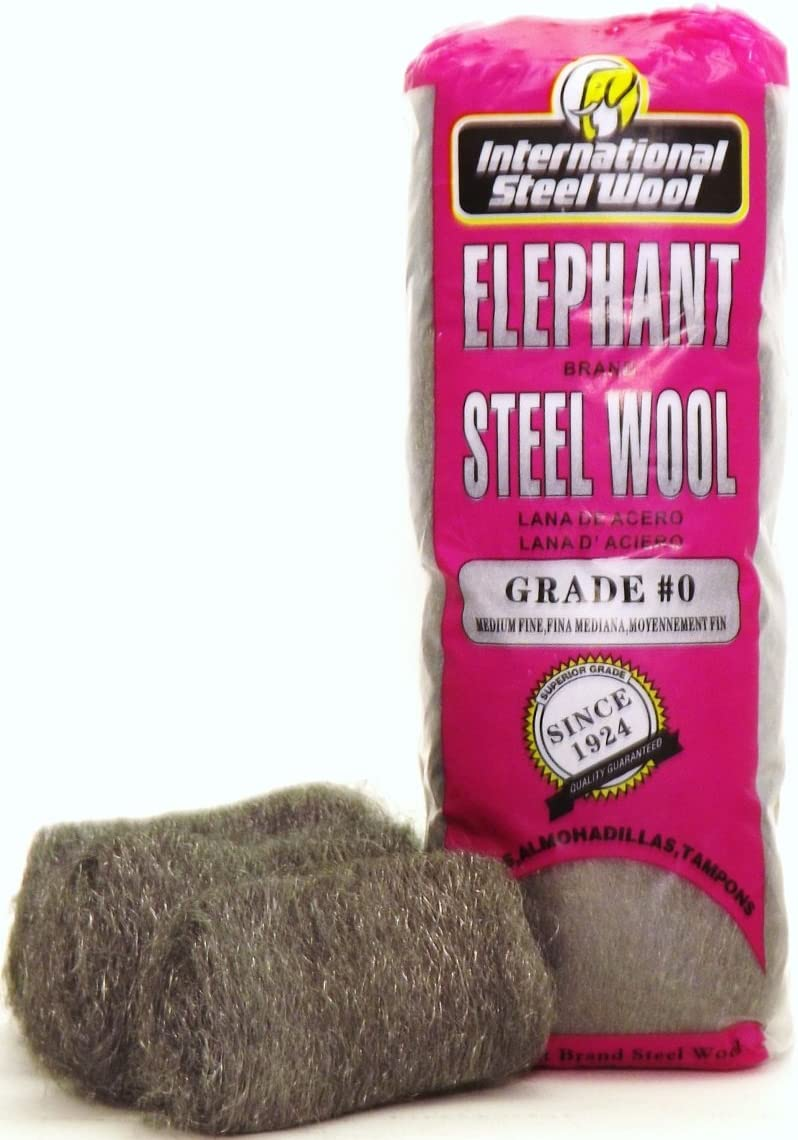 #0 Steel Wool Hand Pads 16 pads//bag Case of 6