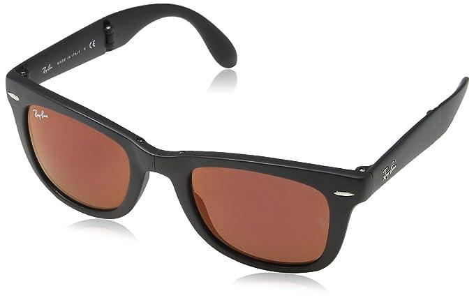 Ray-Ban Gafas de sol Wayfarer Folding Classic MATTE BLACK ...