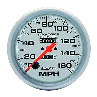 Auto Meter 4495 Ultra-Lite In-Dash Mechanical Speedometer: Automotive