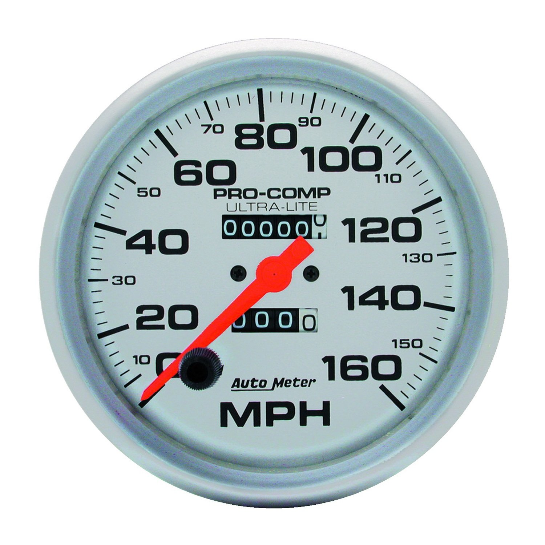 Auto Meter 4495 Ultra-Lite In-Dash Mechanical Speedometer by Auto Meter
