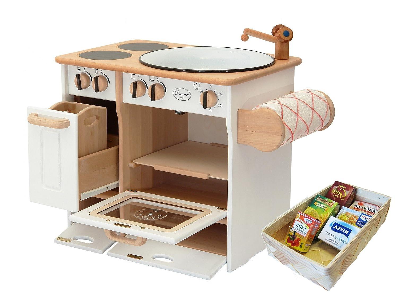 Spielküche Massivholz - Drewart Kinderküche - Spielküche retro