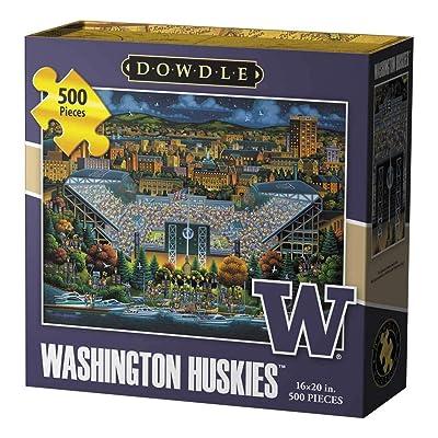 Dowdle Jigsaw Puzzle - Washington Huskies - 500 Piece: Toys & Games