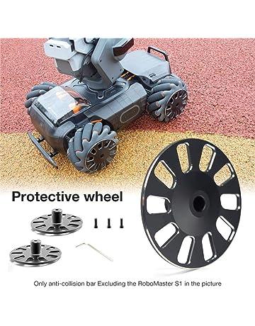 Thelastplanet para dji RoboMaster S1 Rueda Protectora Protección Anticolisión Piezas CNC Material De Alto Grado Aluminio