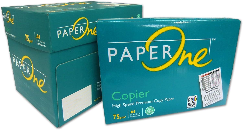 PaperONE 5000 Folios para impresión DIN A4 Papel de marca color ...