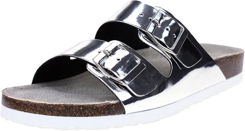 Memory Foam Double Strap Sandal