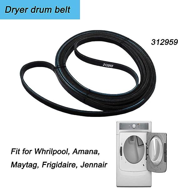 For Maytag Dryer Drum Drive Belt Part Number # PR2914206PAMT571