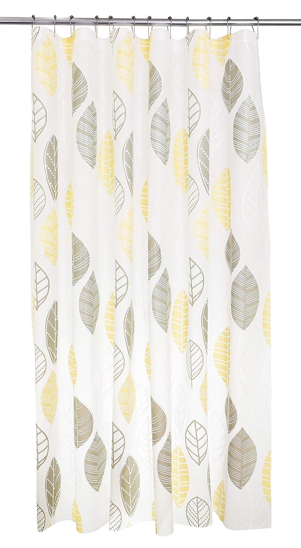 Black and Silver Branches Bath Accessory Kieragrace HO85019-5 KG Beth PEVA Shower Curtain 71-Inch