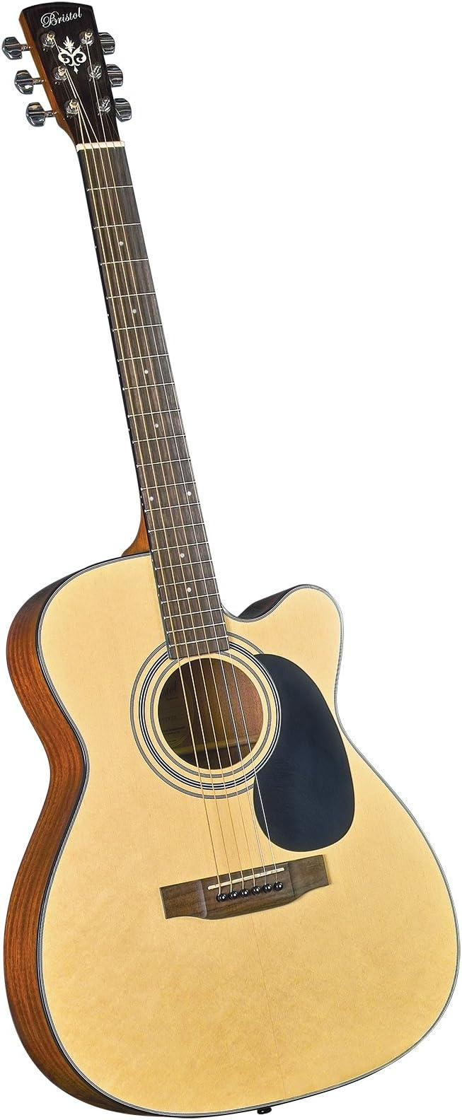 Bristol BM-16CE 000 Cutaway - Guitarra acústica eléctrica