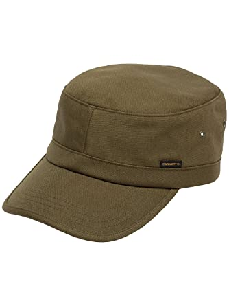 e24287b7008 Carhartt WIP Hats Canvas Army Cap - Olive Adjustable  Amazon.co.uk  Clothing