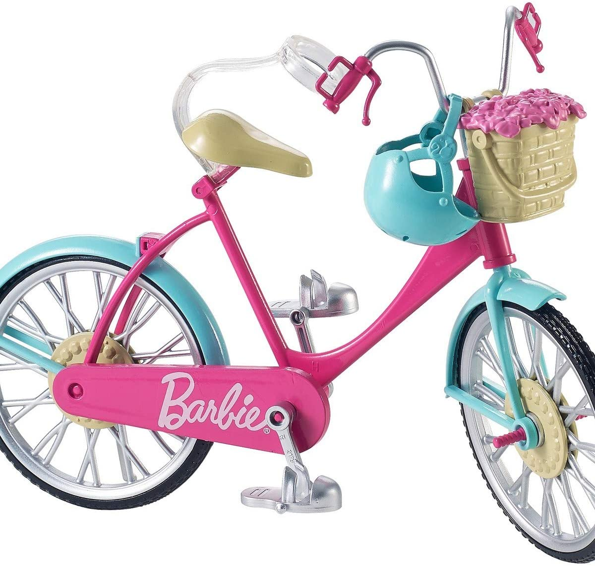 Amazon.es: Barbie Bicicleta, accesorios muñeca barbie (Mattel ...