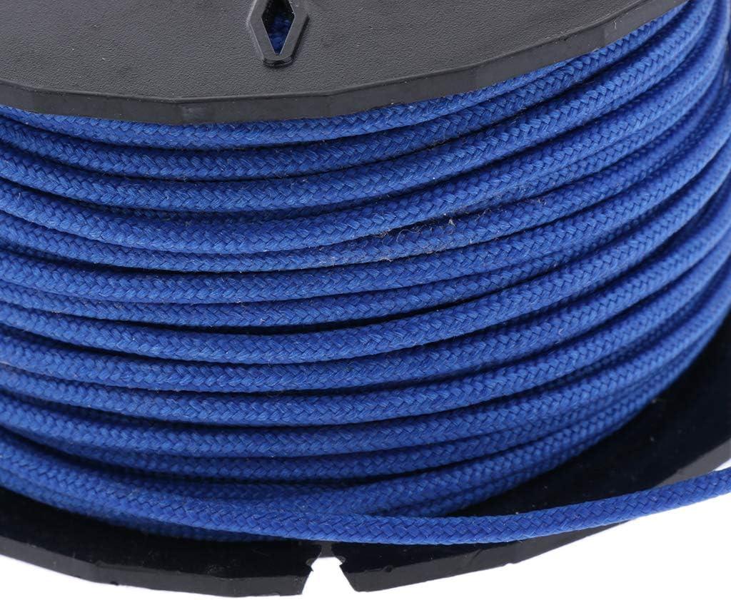 Amarillo 3 Paracord Cuerda de Paraca/ídas de Nylon Cuerda Resistente para Acampar Pescar