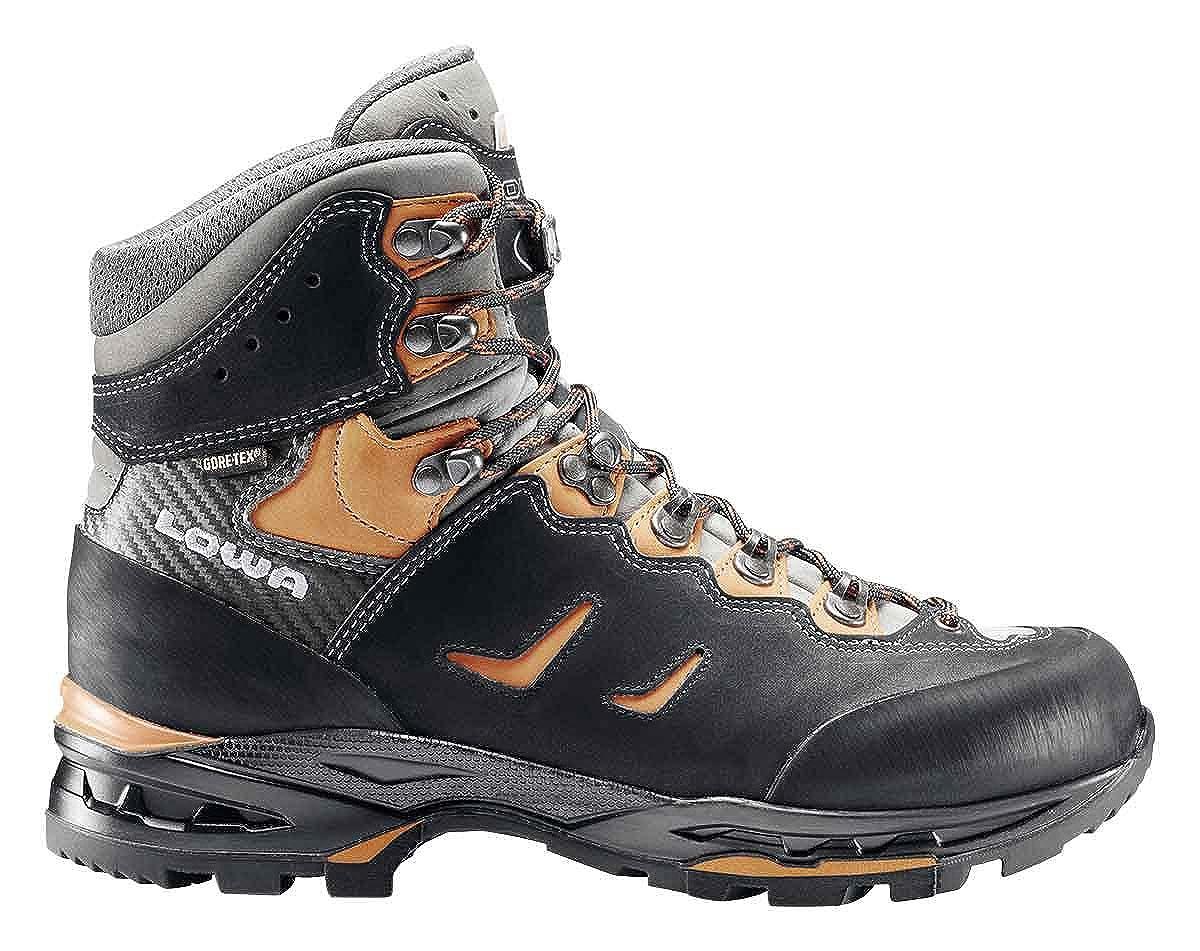 svart svart svart  orange Lowa Camino GTX män High Rise Hiking stövlar  grossist-