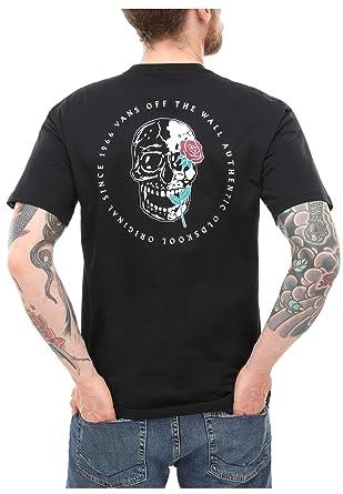 977ef5e00 Vans Coming Up Roses T-Shirt - Black: Amazon.de: Bekleidung