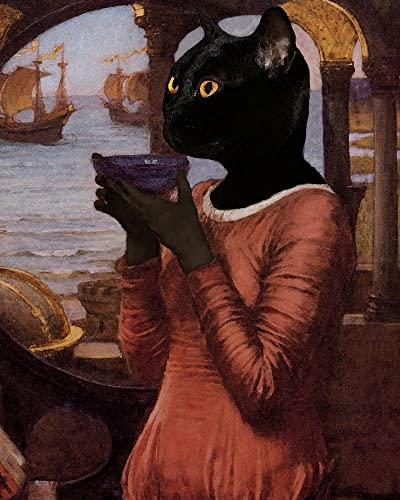 amazon com black witch cat destiny sorceress pagan wiccan medieval