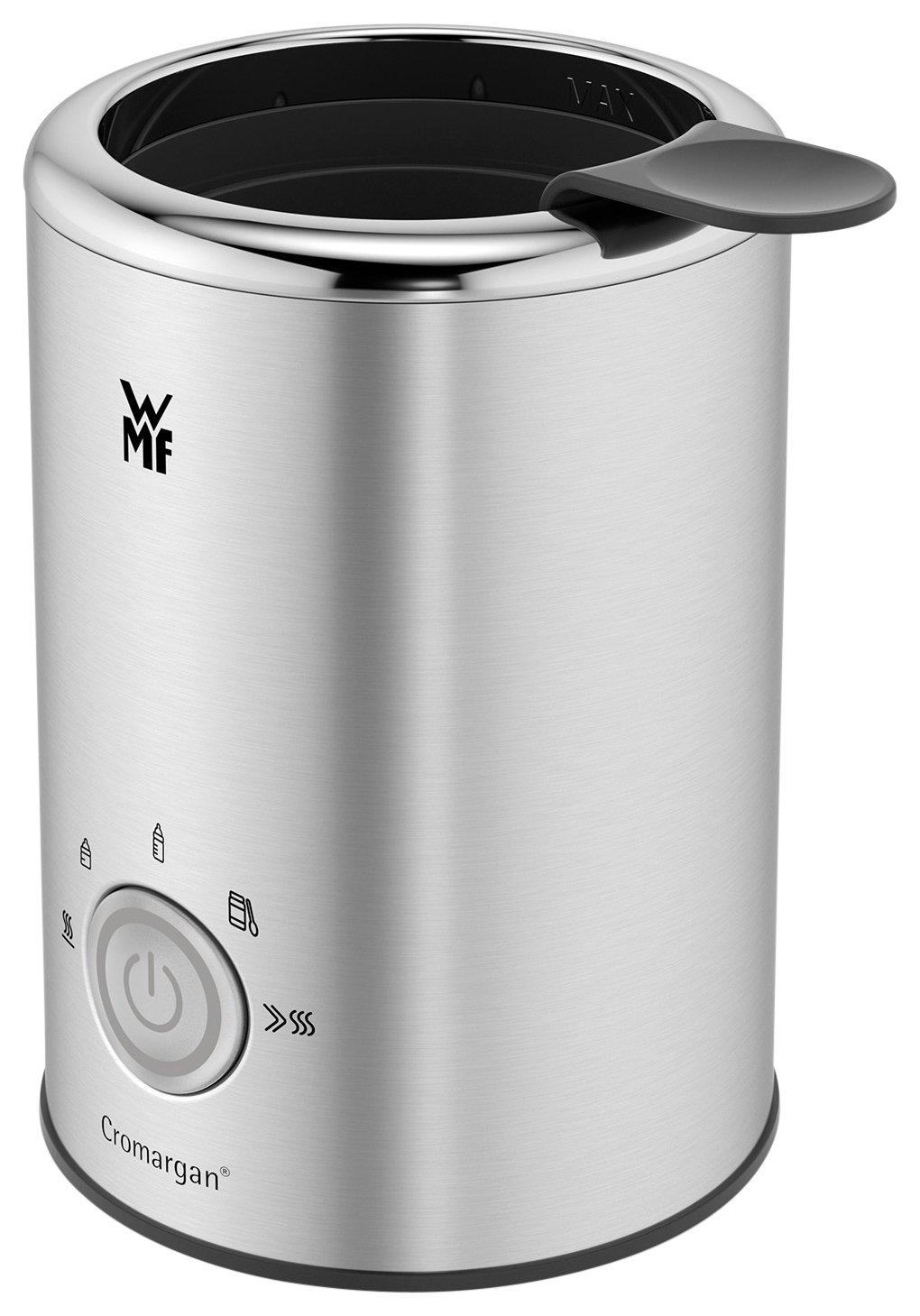 WMF LONO Babykost- und Flaschenwärmer, Cromargan, 5 Funktionsprogramme, Flaschen-Durchmesser bis zu 72mm, BPA-frei, 140 W Cromargan 0415230011