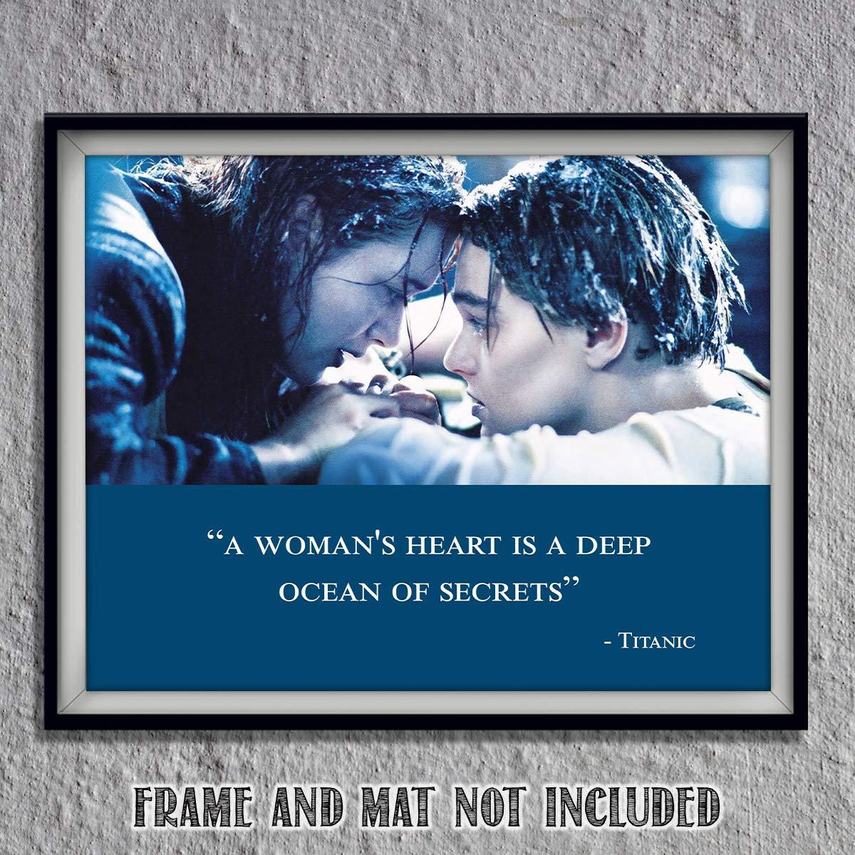 Titanic-Movie Quotes Poster Print-8 x 10\