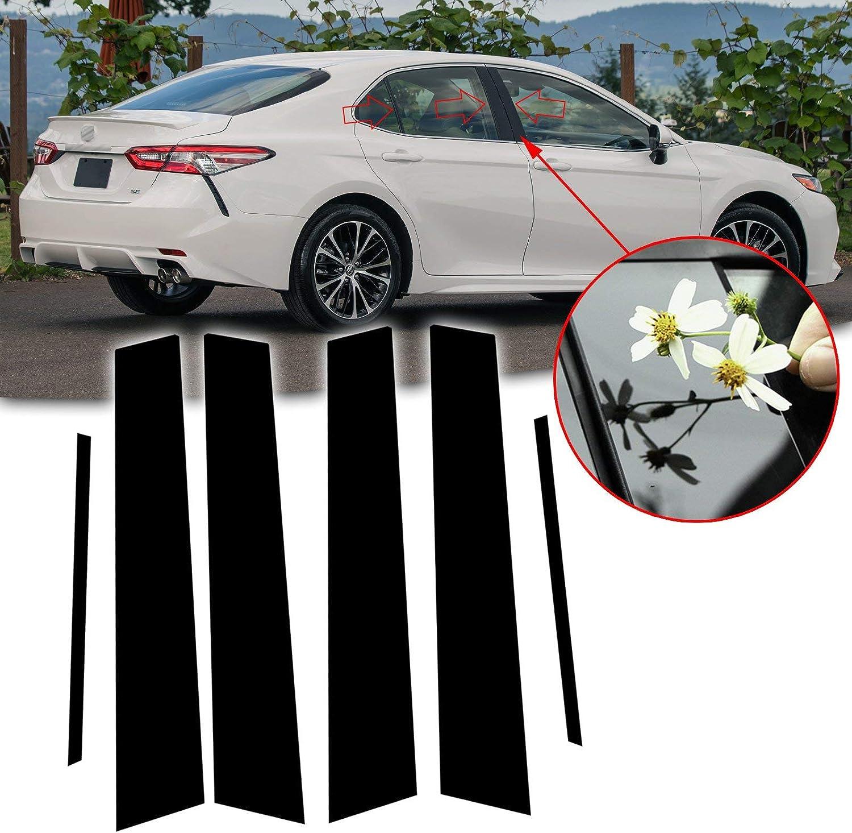 Chrome Pillar Posts 6PCS Stainless Door Trim FOR Toyota Corolla 2020