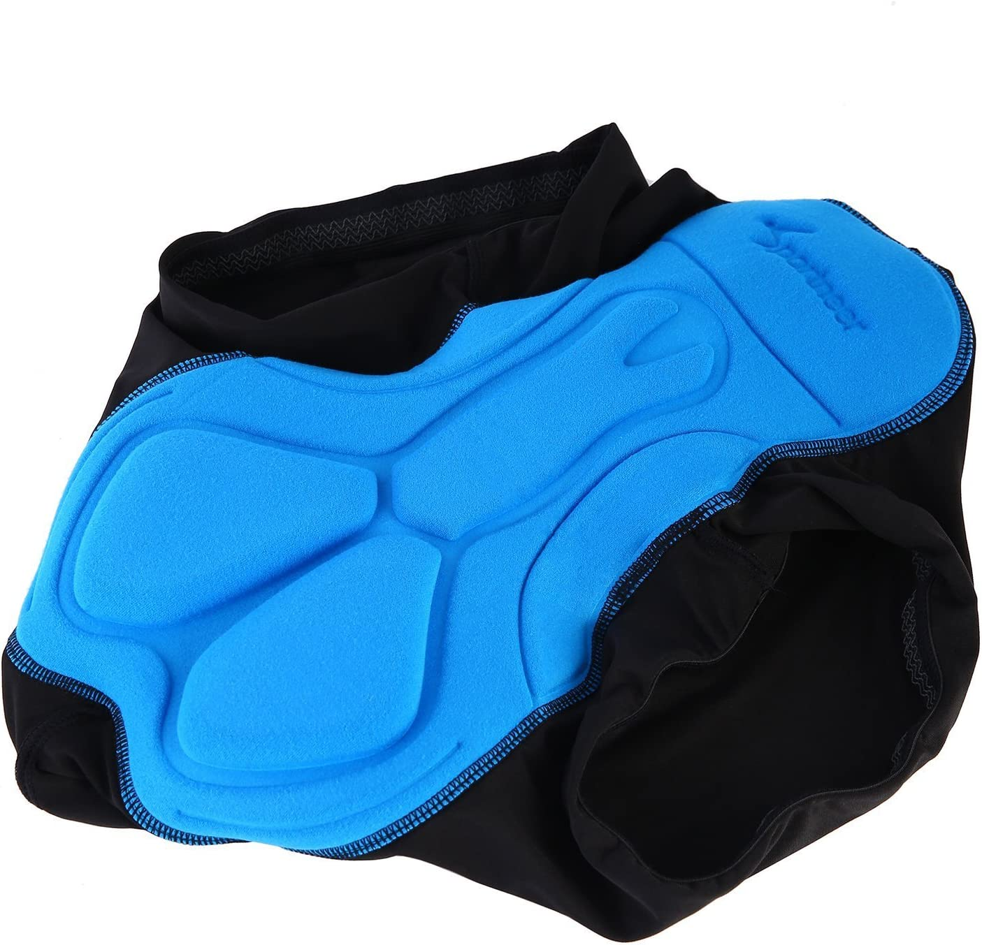 Sportneer Mens 3D Padded Bicycle Cycling Underwear Shorts,M ...