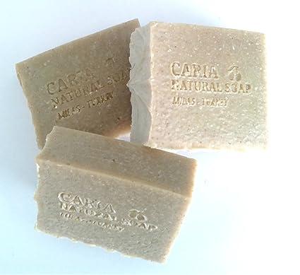 Caria Natural hecho a mano - Barra de jabón de aceite de ...