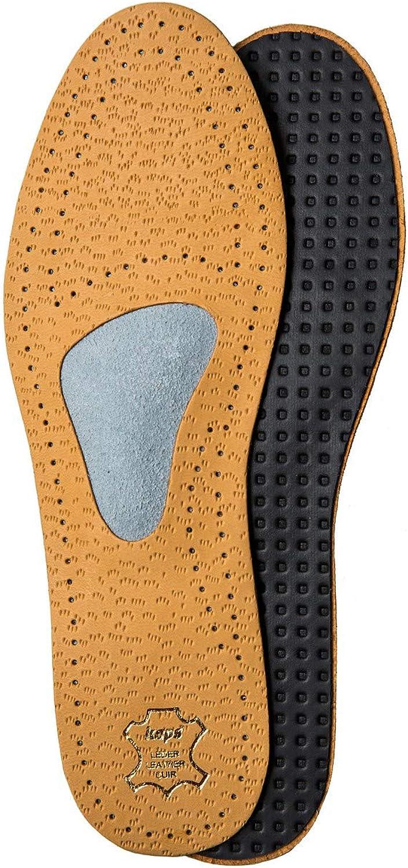 Kaps Plantillas Zapatos Ortopédicas Cuero para Neuroma de Morton y Dolor de Pies, con Soporte y Almohadilla para Arco Metatarso, para Hombres y Hujeres, Allevia, Todas las Tallas