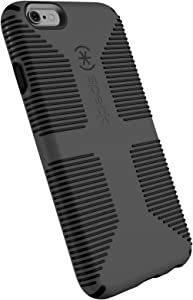 Speck Products CandyShell Grip Cell Phone Case for iPhone 6 Plus, iPhone 6S Plus - Slate Grey/Black
