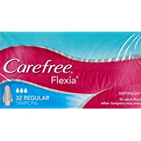 Carefree Tampons Flexia Regular 32