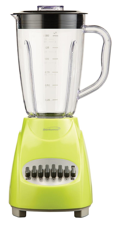 Amazon.com: Brentwood JB-220G 12-Speed Blender, 1.5-Liter, Lime ...