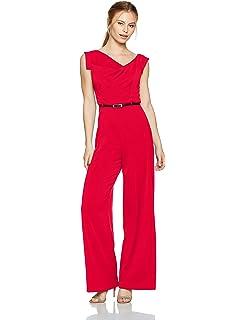 5f4b6648b46 Amazon.com  Black Halo Women s Hadid Two Piece Jumpsuit  Clothing