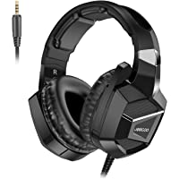 Jeecoo J20 Gaming Headset for PS4 New Xbox One, Stereo Over-ear Headphones with Mic