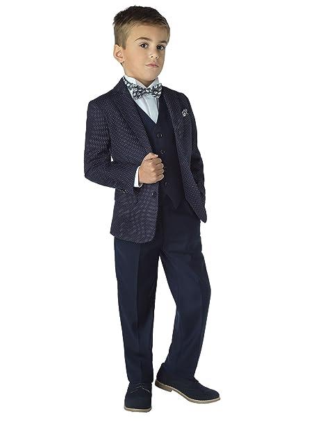 Romano Couture - Traje - para niño azul azul marino 14-15 ...
