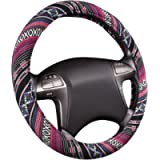 CAR PASS Ethnic Girly Style Universal fit Steering Wheel Cover,Perfect fit for most of vehicles,cars,Suv,Vans…