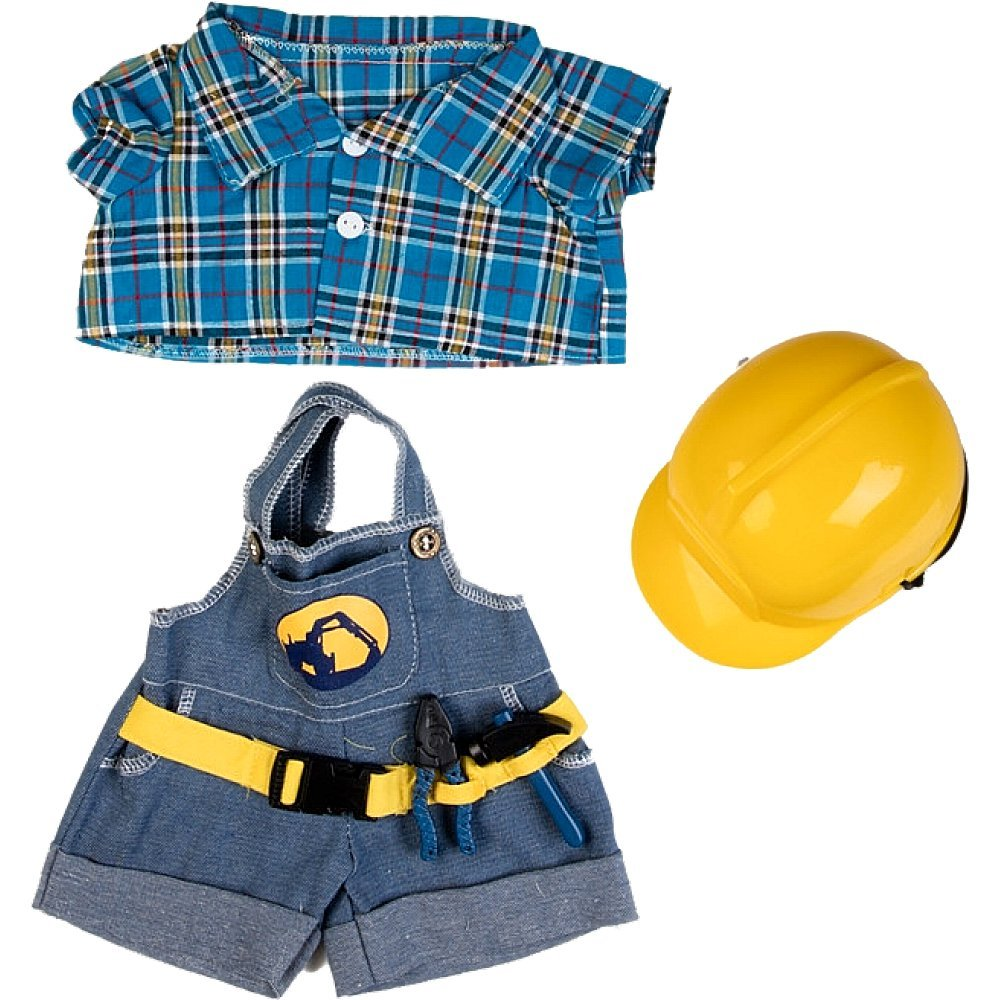 Construction Worker 16  Teddy Bear Outfit