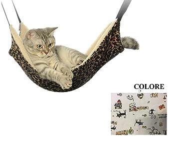 Ducomi sleepat – Hamaca de Gato con Suave y cálido Revestimiento – 53 x 35 cm
