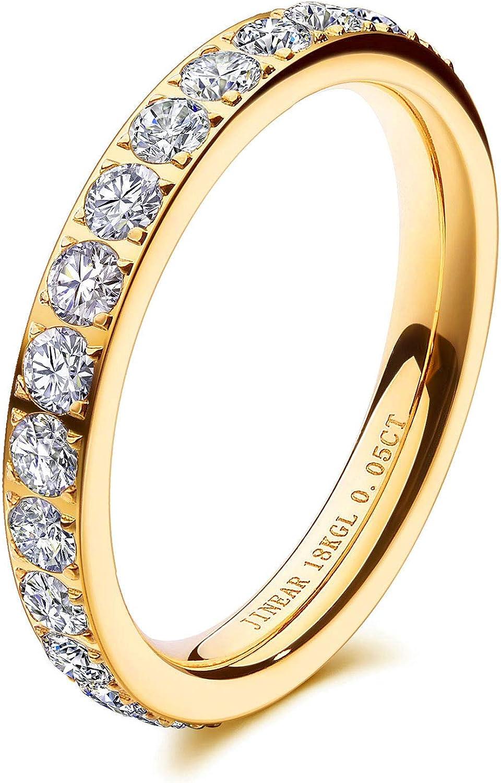 Brown Diamonds Thin Band Gold Eye Ring 0.05ct Twisted Band Stacking Ring 18K Yellow Gold