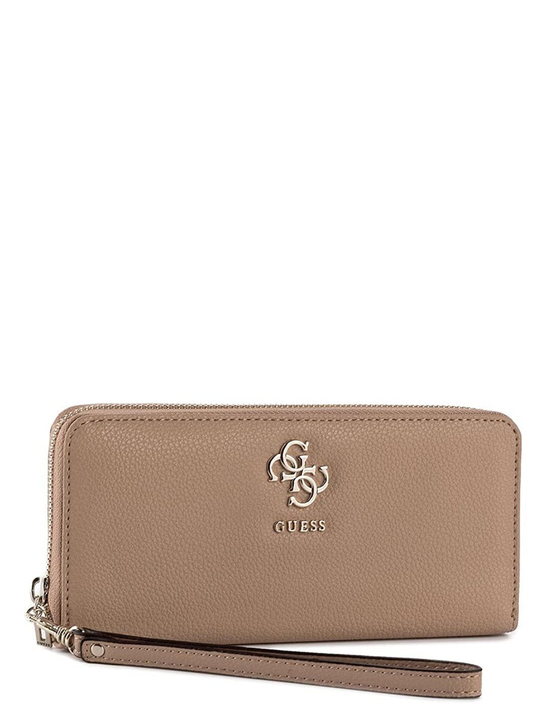 Guess cartera marrón claro (Única - Marrón): Amazon.es: Ropa ...