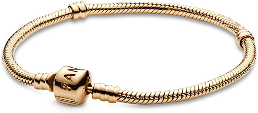 collier pandora femme or