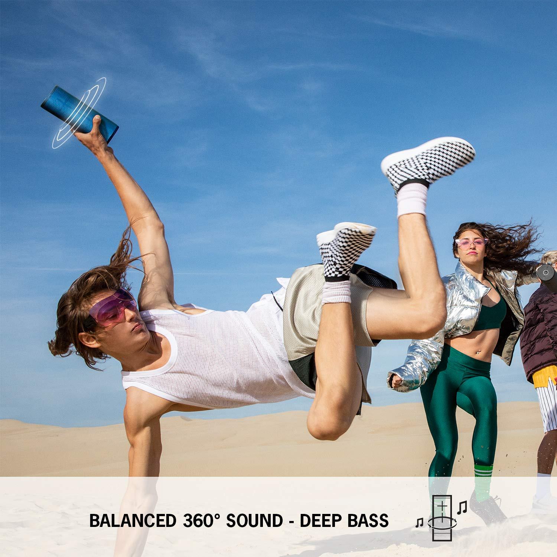 multiples couleurs basses intenses Bluetooth enceinte Bluetooth sans fil BOOM 3 /étanche son audacieux port/ée 45 m autonomie 15 heures Magic Button Ultimate Ears