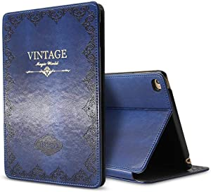 iPad Air 3 Case Slim Fit 2019 10.5-inch, Awsaccy(TM) Premium PU Leather Modern Smart Folio Stand Case for Apple New iPad Air 3rd Generation Case Auto Sleep Wake Slim Fit Multi Angle Blue