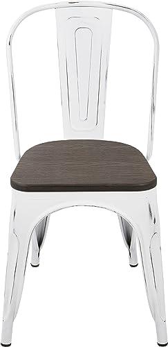 WOYBR Steel Metal Dining Chair