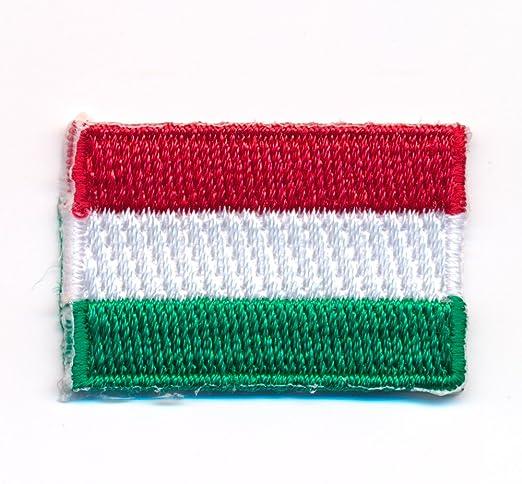 30 X 20 Mm Ungarn Flagge Budapest Debrecen Flag Aufnäher Aufbügler 0920 Mini Auto